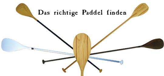 SUP-Paddels – Basics