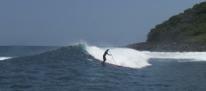 Stand Up Surfing