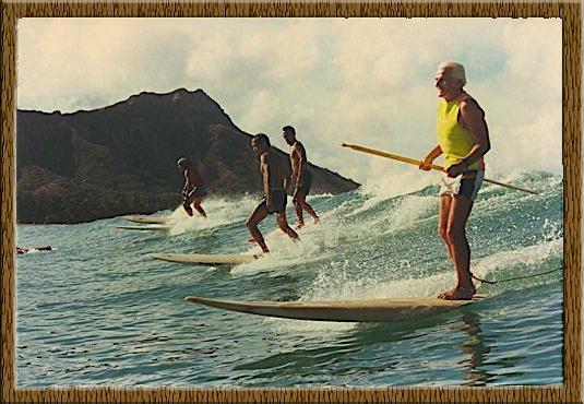 Ku Hoe He'e Nalu – Stand Up Paddle Surfing: Die Geschichte