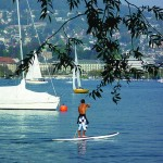 SUP Spaziergang auf dem Zrichsee