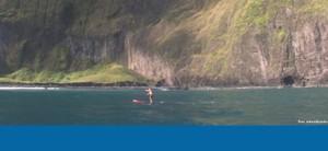 SUP in Molokai