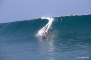 Stand Up Surfing auf Hawaii