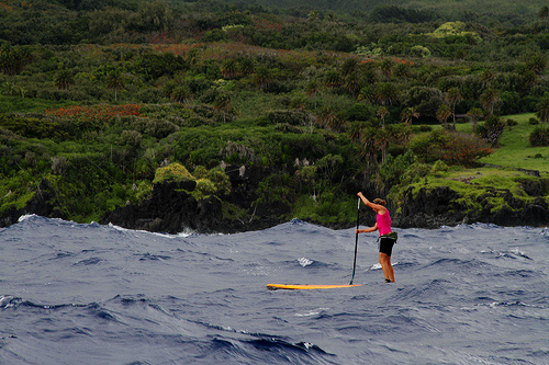 SUP quer durch Hawaii – Update