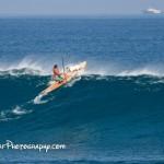 Set Welle bei Honolua Bay
