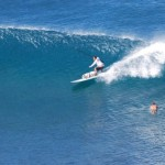 Mana surft Honolua Bay