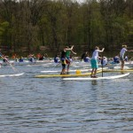 german sup challenge - race around scharfenberg