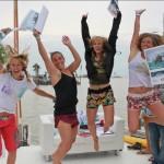 1.Platz Frauen Team Kite Ladies