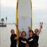 2. Platz Frauen Team Mission to Surf Ladies