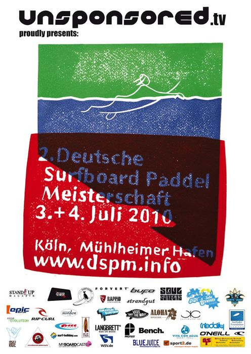 Deutsche Surfboard Paddel Meisterschaft