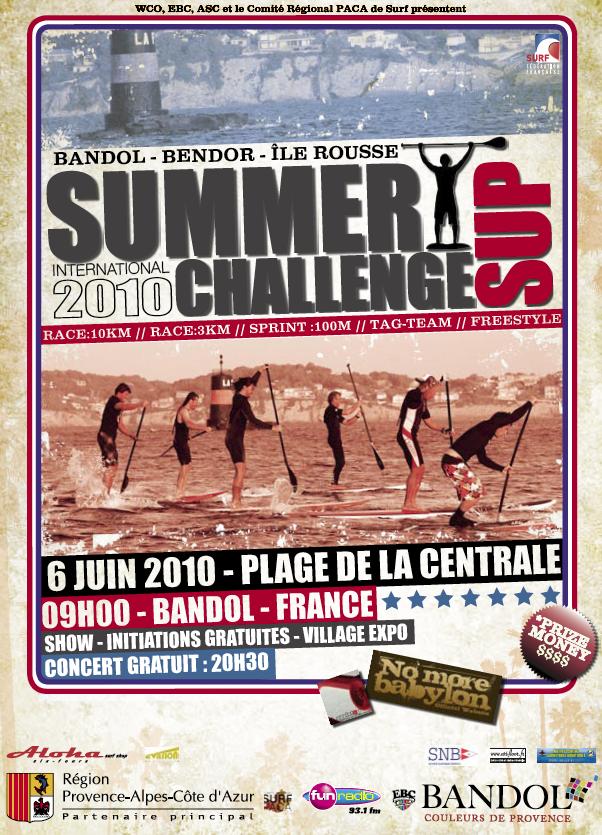 Sommer SUP Challenge 2010 – Bandol