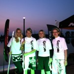Nightflight Germans SUP Challenge Damen Sieger