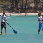 SUP Spaziergang auf Barbados
