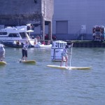 SUP sprint race der Frauen
