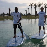 Stand Up Paddling mit DFB