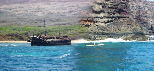 Stand Up Safari an den Küsten vor Hawai'i