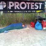 Aufwachen nur unter Protest