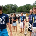 Gutestimmung am Paddle Battle Berlin