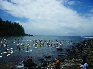 Naish Paddle Race