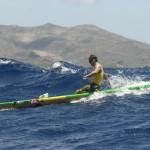 Jamie Mitchell vor Oahu