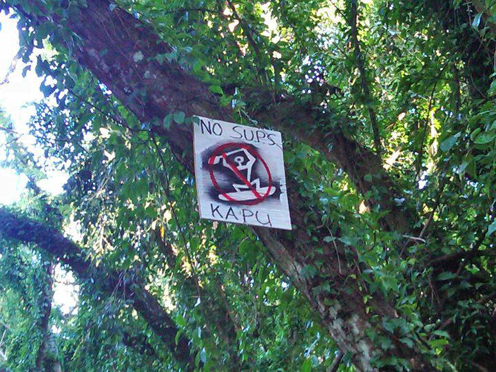 SUP Verbot auf Hawaii