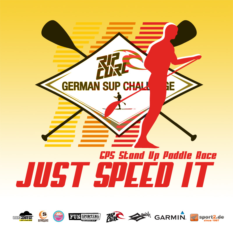"Rip Curl German SUP Challenge ""Just Speed It"" auf Fehmarn"