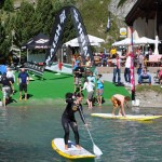 SUP Test in Silvaplana