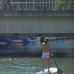 Stand Up Paddling in the City