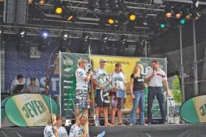 Jever German SUP Tour Sieger Olaf Schwarz