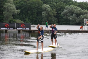 Olaf Schwarz und Andreas Wolter Rip Curl German SUP Challenge