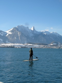 SUP am Thunersee