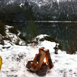 Winter-SUP-Lagerfeuer