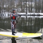 Winter SUP in Austria