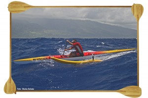 Dave Kalama one man canoe
