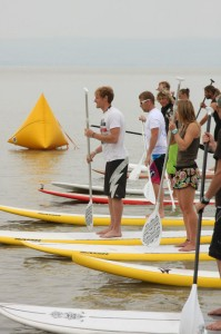 SUP Rennen am Neusiedlersee