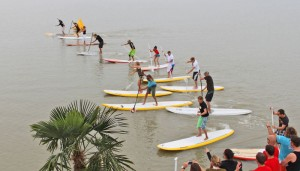 SUP in Podersdorf