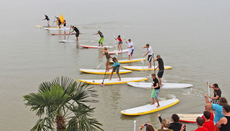 SUP am Surf Worldcup 2011
