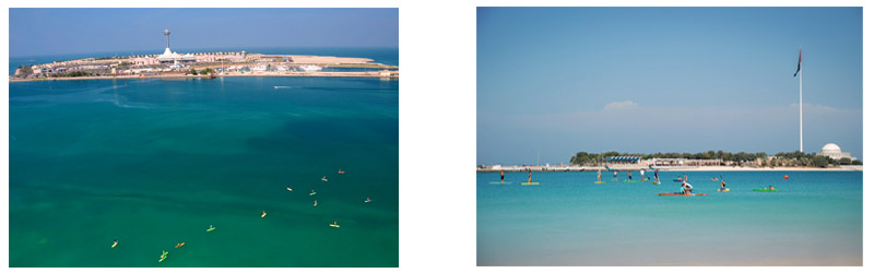SUP in Abu Dhabi