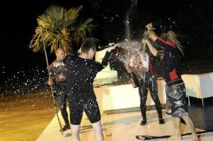 Champagner Schlacht sieger SUP Race Podersdorf
