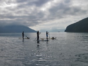 SUP tour mit Peter Bartl