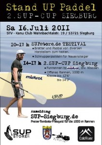 Stand UP Paddel Cup Siegburg