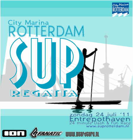 Rotterdam SUP banner