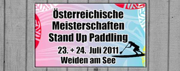 SUP-Paddling-Meisterschaft