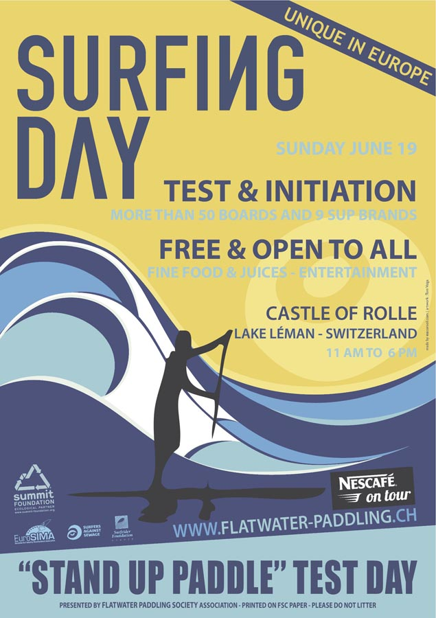 (SUP) Surfing Day