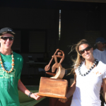 Connor Baxter und Andrea Moller Siger SUP Triple Crown