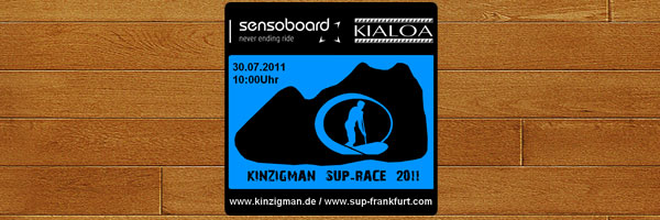 Erstes KINZIGMAN Stand Up Paddling (SUP) Race