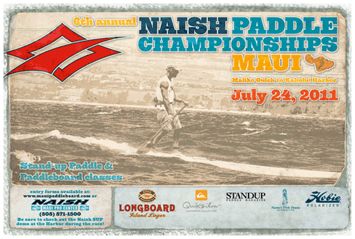 6th annual Naish Paddle Championships Maui