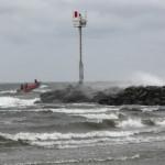 Sturm an der Westmole