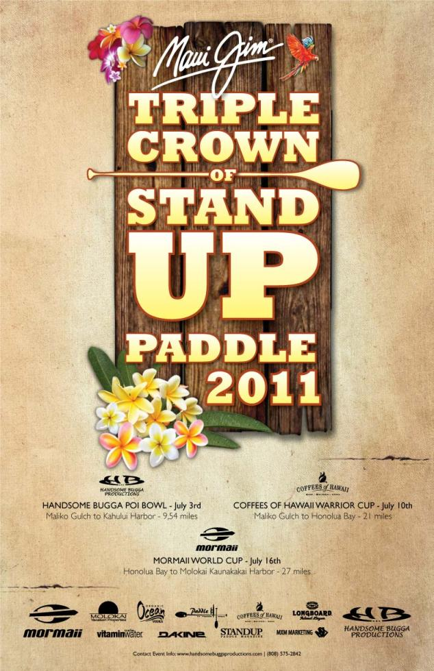 Triple Crown of Stand UP Paddle