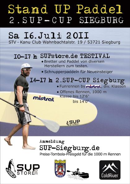 Zweiter SUP-CUP Siegburg