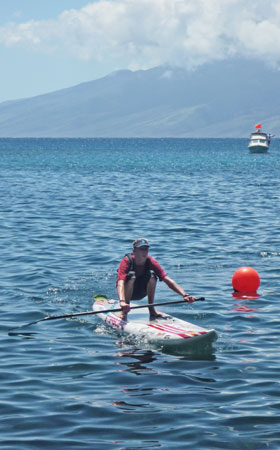2. Runde in der Maui Jim Triple Crown of Stand Up Paddle